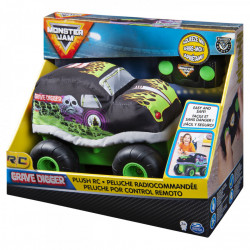 Masinuta Monster Jam RC - Grave Digger, de plus, 22 cm