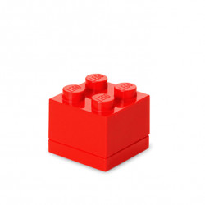 Mini cutie depozitare LEGO 2x2 rosu