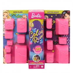 Papusa Barbie, Ultimate Color Reveal, colectia Day-To-Night, papusa surpriza, 25 de accesorii secrete