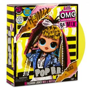 Papusa L.O.L. Surprise! OMG Remix Pop B.B. 25 surprize