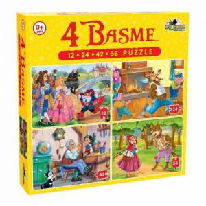 Puzzle Noriel 4in1 Basme Mari-12,24,48,56piese