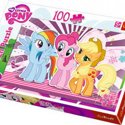 Puzzle Trefl - Friends My Little Pony, 100 piese