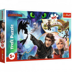 Puzzle Trefl, How to train your dragon, 100 piese