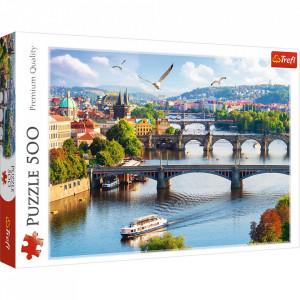 Puzzle Trefl, Prague, Czech Republic, 500 piese
