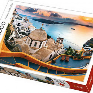 Puzzle Trefl, Santorini, 1000 piese
