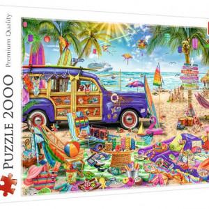 Puzzle Trefl - Vacanta Tropicala, 2000 piese