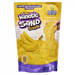 Rezerva Kinetic Sand Scents - Go bananas, nisip parfumat, 227g