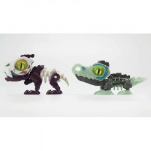 Set 2 Figurine Biopod,Creaturi Preistorice in Capsula