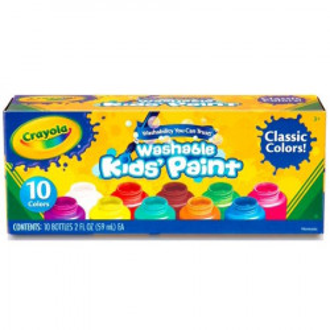 Set Acuarele Crayola,lavabile 10 culori