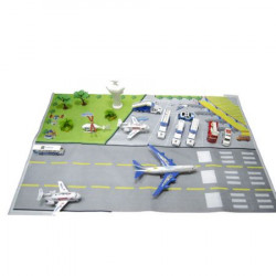 Set Aeroport, Ideals Toys, Multicolor