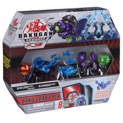 Set Bakugan Armored Alliance Baku-Gear - Ultra Hydorous si Nillious