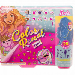 Set Barbie Color Reveal cu Surpriza Magica