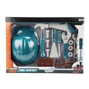 Set Mester Toi-Toys cu Unelte si Accesorii,14 elemente