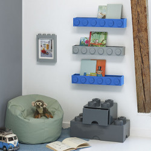 Suport LEGO pentru carti - Gri