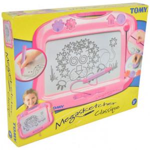Tablita magnetica de desenat Tomy Megasketcher, Roz