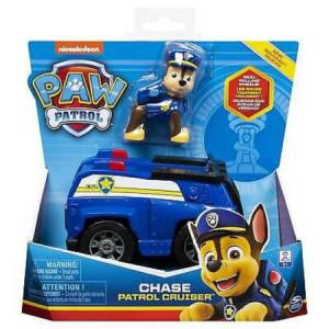 Figurina cu Vehicul Paw Patrol-Chase si Patrol Cruiser