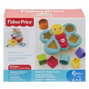 Fisher Price - Fluture pentru sortat forme
