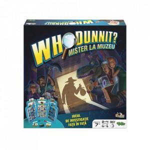 Joc de Societate Noriel Who DunnIt - Mister la muzeu. Descopera Cine Ce Unde