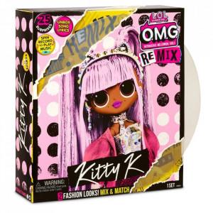 Papusa L.O.L. Surprise! OMG Remix Kitty K 25 surprize