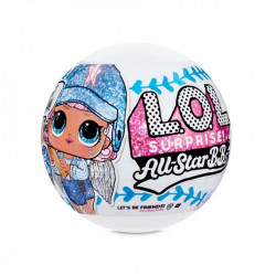 Papusa LOL Surprise All Star B.B.s.- Baseball, 8 Surprize, S1, Blue