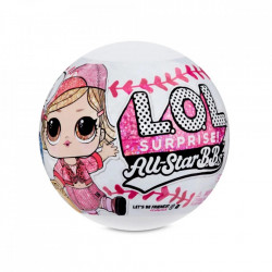 Papusa LOL Surprise All Star B.B.s - Baseball, 8 Surprize, S1, Pink