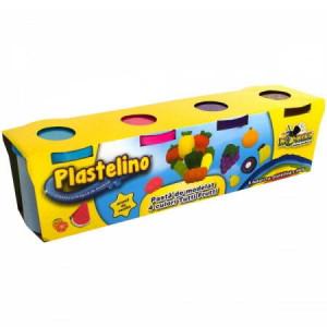 Plastelino-Rezerve 4 culori Tutti Frutti
