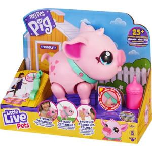 Purcelus interactiv Little Live Pets - My Pet Pig