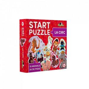 Puzzle 4 in 1, La Circ, Noriel, 26 piese