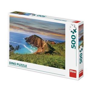 Puzzle Dino 500 piese - Faleza Marii
