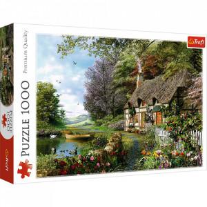 Puzzle Trefl 1000piese - Casuta de pe Lac