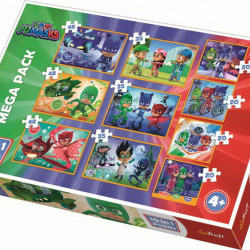 PUZZLE TREFL 10IN1 CURAJOSII EROI IN PIJAMALE