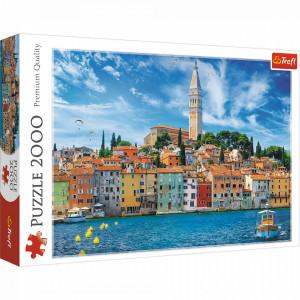 Puzzle Trefl 2000piese - Rovinj, Croatia