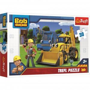 Puzzle Trefl 30piese - Bob Constructorul