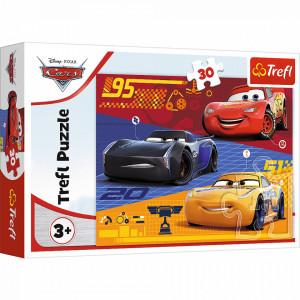 Puzzle Trefl 30piese Cars - Inainte de Cursa