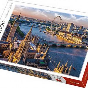 Puzzle Trefl, Londra, 1000 piese