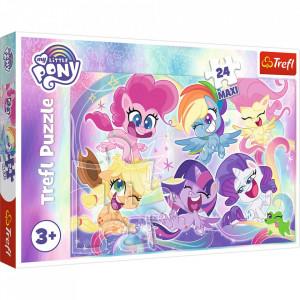 Puzzle Trefl Maxi My Little Pony, Prietenii poneilor 24 piese