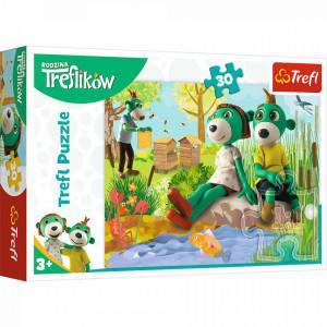 Puzzle Trefl - Treflikow, 30 piese