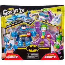 Set 2 figurine Goo Jit Zu Batman VS The Joker