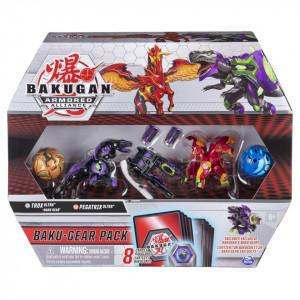 Set Bakugan Armored Alliance Baku-Gear - Pegatrix si Trox