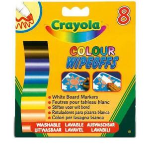 Set Crayola 8 Markere pentru Tabla Alba