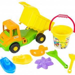 Set De Joaca Tigres-Camion si Accesorii pentru Nisip