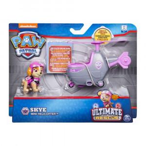 Set figurina cu vehicul Paw Patrol - Ultimate Rescue Skye