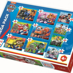 Set Puzzle 10 in 1 Trefl -Paw Patrol