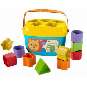 Sortator cu forme geometrice pentru copii - 10 forme multicolor