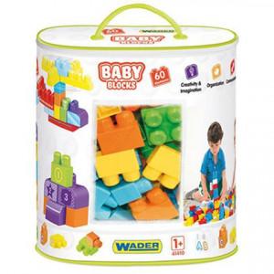Cuburi pentru constructie 60 bucati Wader