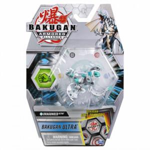 Figurina Bakugan Armored Alliance - Ultra Dragonoid, cu card Baku-Gear