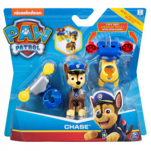 Figurina Paw Patrol - Chase, cu accesorii
