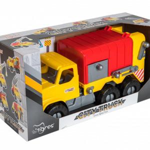 Jucarie Educativa Tigres-Camion Gunoi 52cm