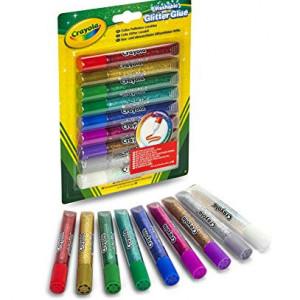 Lipici cu sclipici,Crayola,Lavabil,9 culori