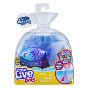 Little Live Pets Furtail, pestisorul care inoata - seria 2, 11 cm